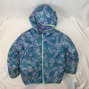 The North Face Girl Toddler Jacket Reversible Sz 6